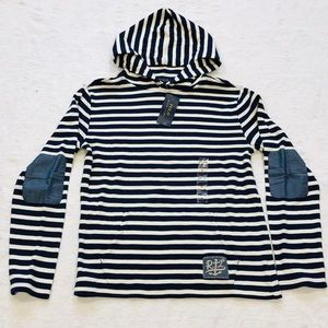 POLO Ralph Lauren**Striped Hooded Top L (14-16)